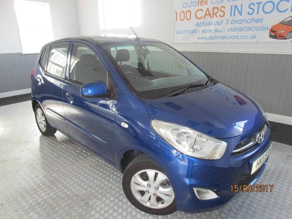 used Hyundai i10 ACTIVE in surrey