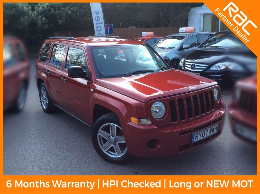 used Jeep Patriot SPORT CRD in surrey