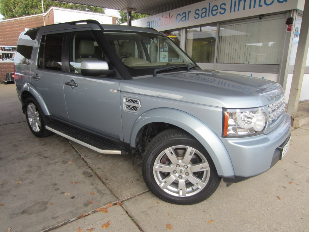 used Land Rover Discovery 4 SDV6 in surrey