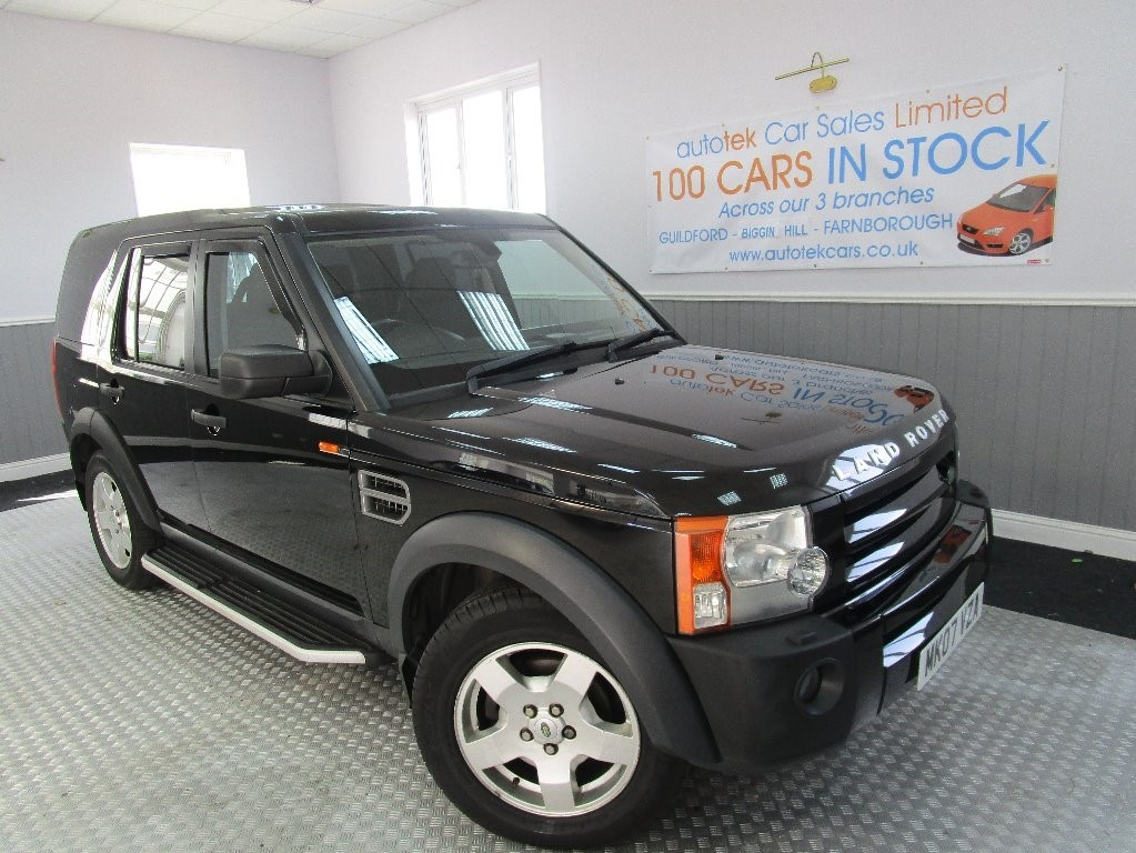 used Land Rover Discovery 3 TDV6 S in surrey