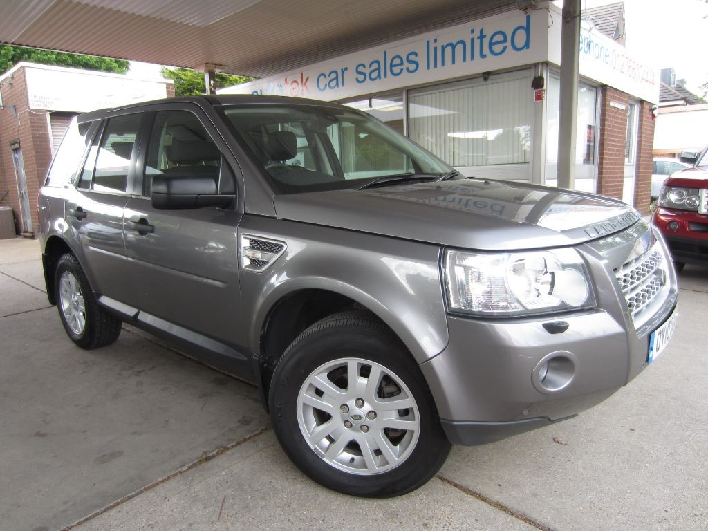used Land Rover Freelander TD4 E XS in surrey