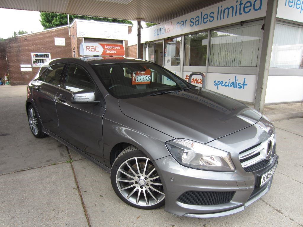 used Mercedes A220 CDI BLUEEFFICIENCY AMG SPORT in surrey