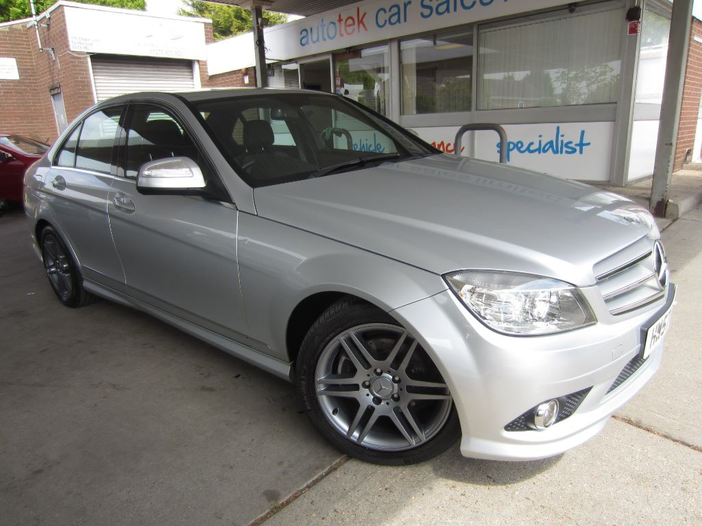 used Mercedes C180 KOMPRESSOR SPORT in surrey