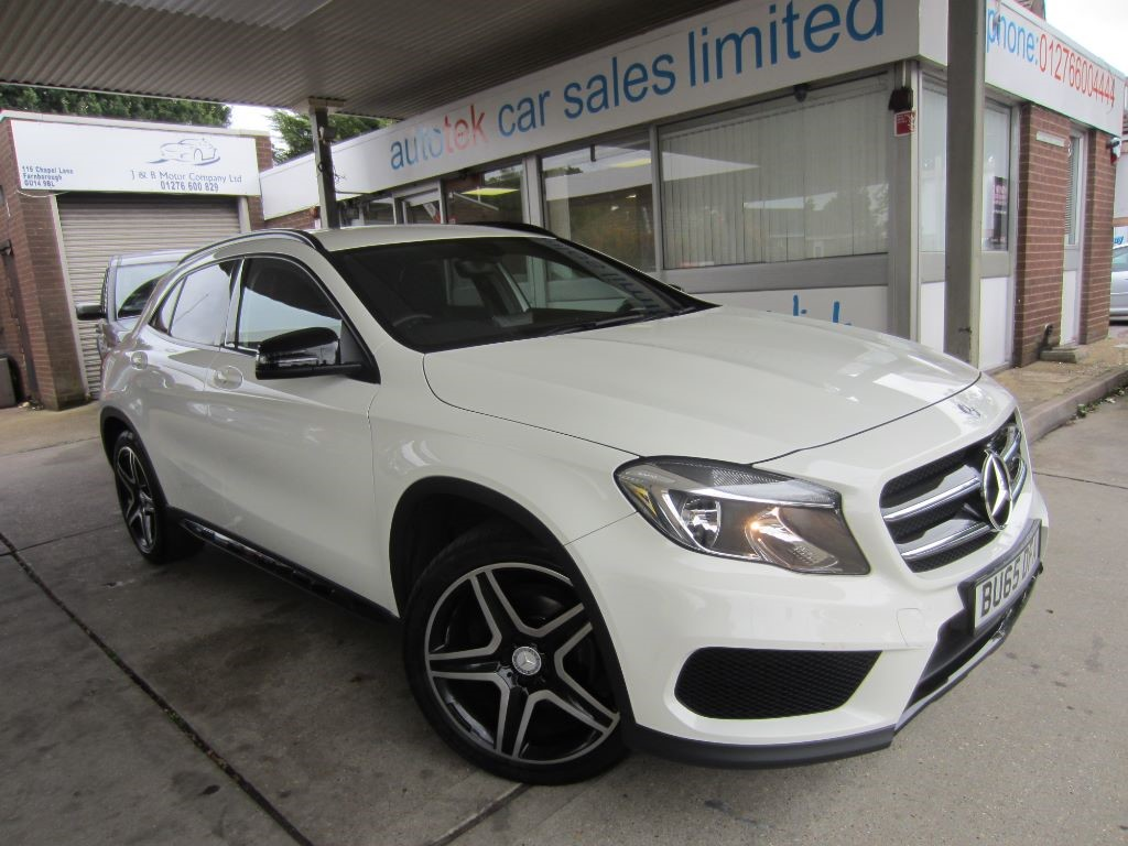 used Mercedes GL A-CLASS GLA200 CDI AMG LINE in surrey