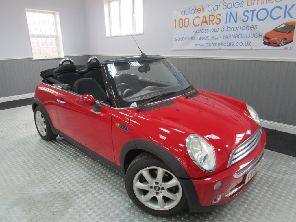 used MINI Convertible COOPER in surrey