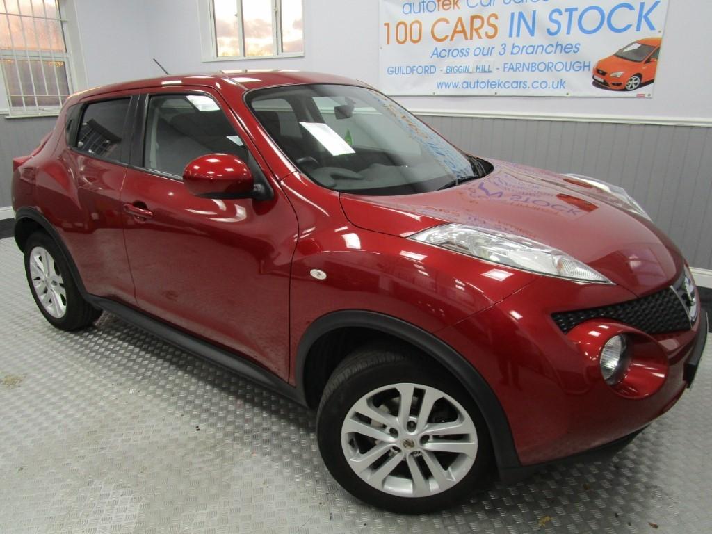 used Nissan Juke ACENTA PREMIUM in surrey