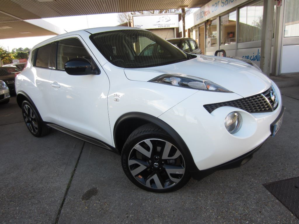 used Nissan Juke N-TEC in surrey