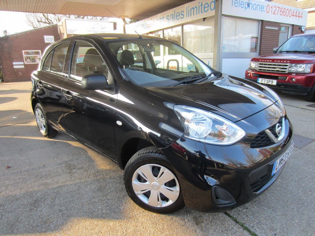 used Nissan Micra VISIA in surrey