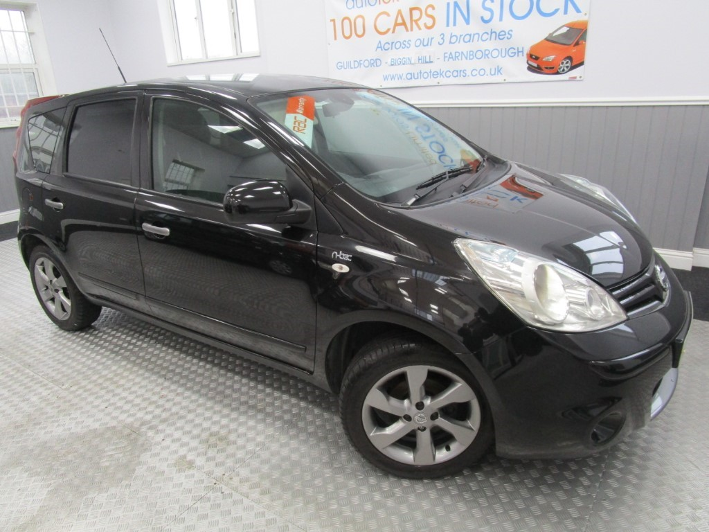 used Nissan Note N-TEC in surrey