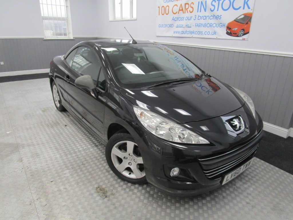 used Peugeot 207 CC SPORT in surrey