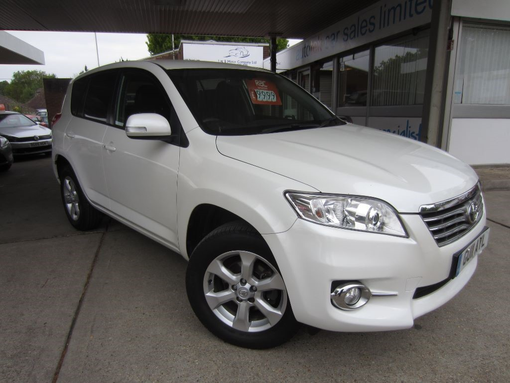 used Toyota RAV4 RAV-4 XT-R D-4D in surrey