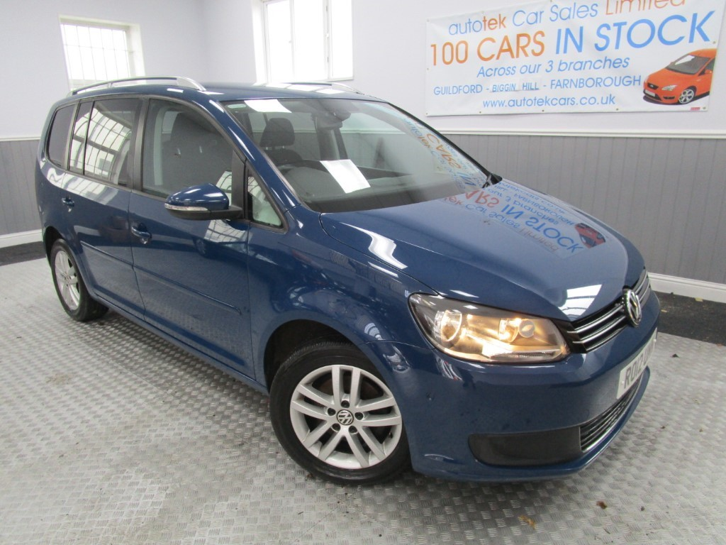 used VW Touran SE TDI in surrey