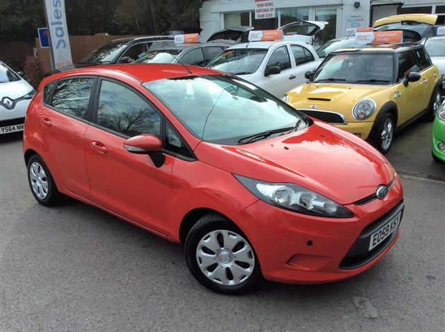 used Ford Fiesta ECONETIC TDCI in surrey