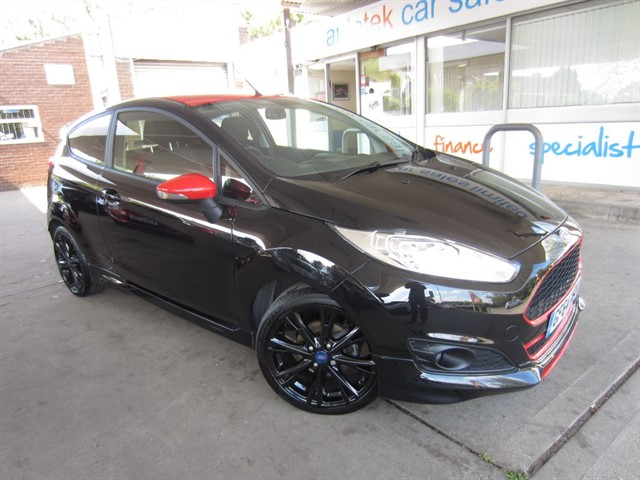 used Ford Fiesta ZETEC S BLACK EDITION in surrey