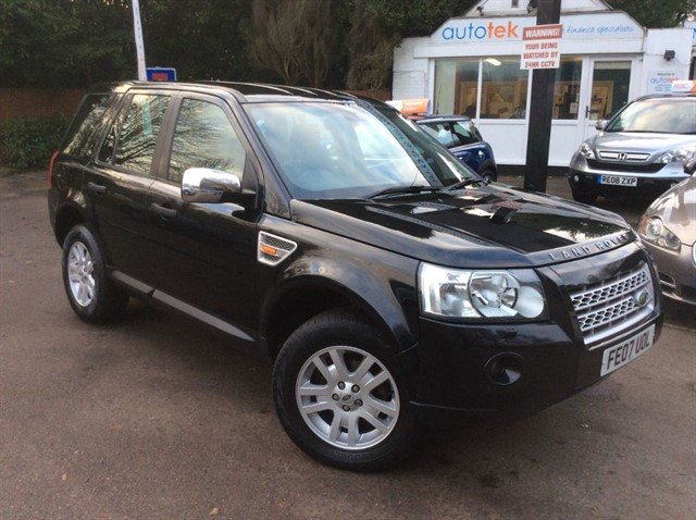 used Land Rover Freelander TD4 XS in surrey