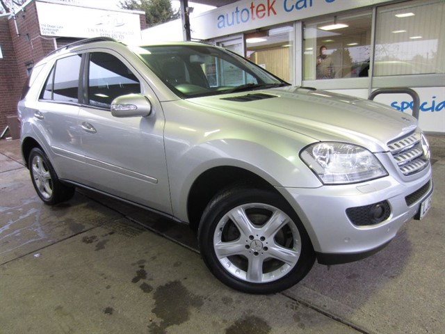 used Mercedes ML320 CDI in surrey