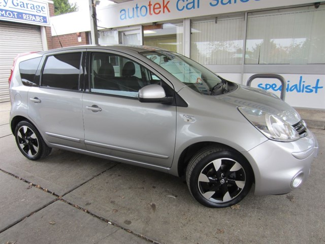 used Nissan Note N-TEC PLUS DCI in surrey