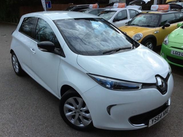 used Renault Zoe DYNAMIQUE INTENS in surrey