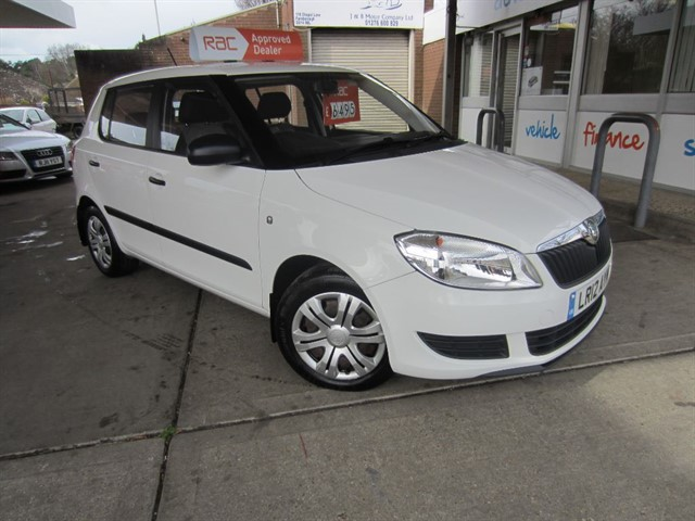 used Skoda Fabia S TSI DSG in surrey