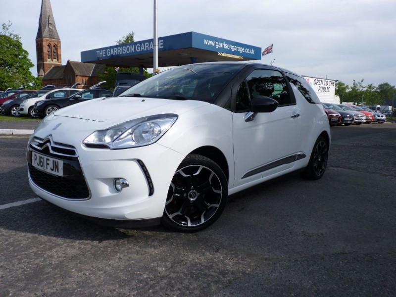 used white citroen ds3 for sale hampshire