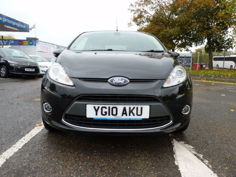 Used Black Ford Fiesta For Sale Hampshire