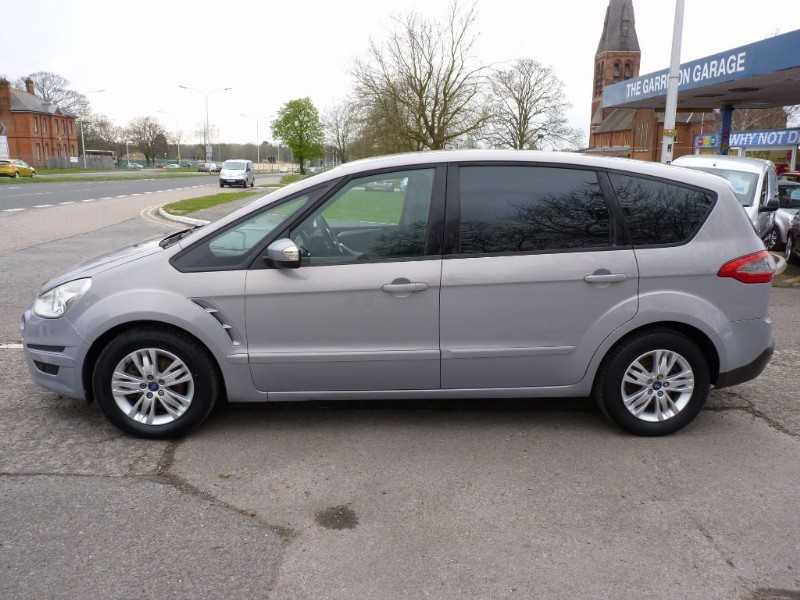 used silver ford s max for sale hampshire. Black Bedroom Furniture Sets. Home Design Ideas