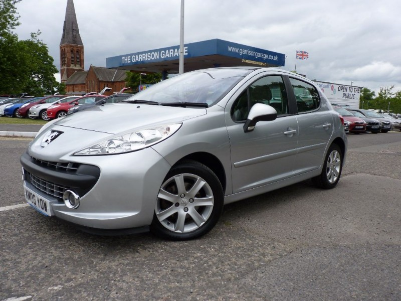 Used Silver Peugeot 207 For Sale Hampshire