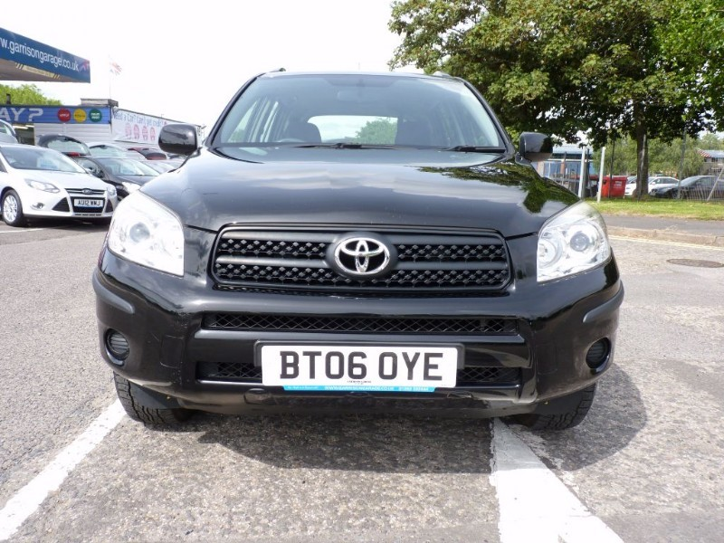 Used Black Toyota Rav4 For Sale Hampshire