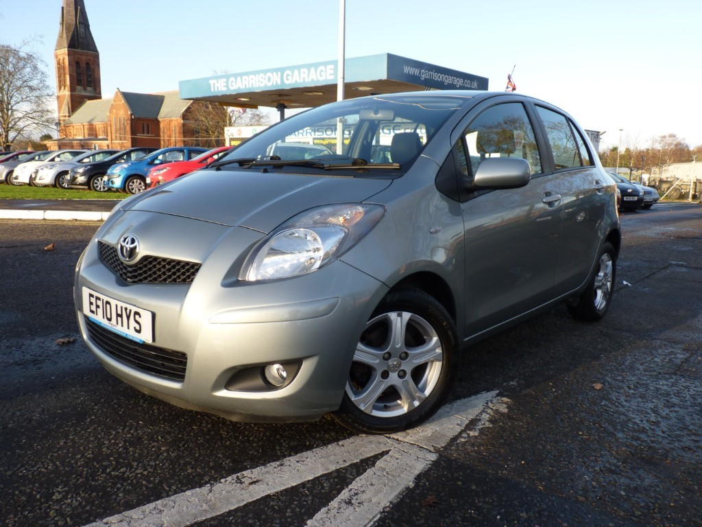 Toyota Yaris For Sale >> Used Silver Toyota Yaris For Sale Hampshire