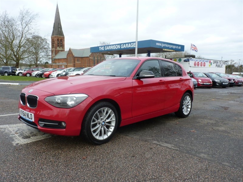 used BMW 116d SPORT in hampshire-and-surrey