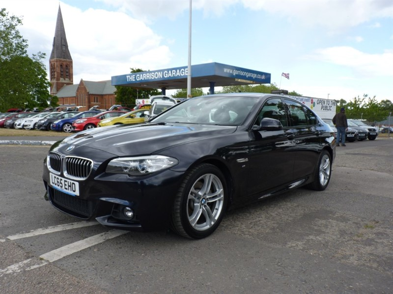 used BMW 520d M SPORT in hampshire-and-surrey