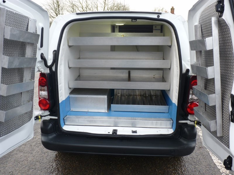used Citroen Berlingo Catering van Chilled & Heated compartments in hampshire-and-surrey