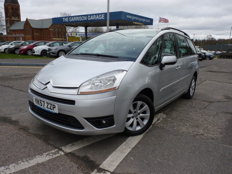 used Citroen C4 GRAND PICASSO 7 VTR PLUS 16V in hampshire-and-surrey