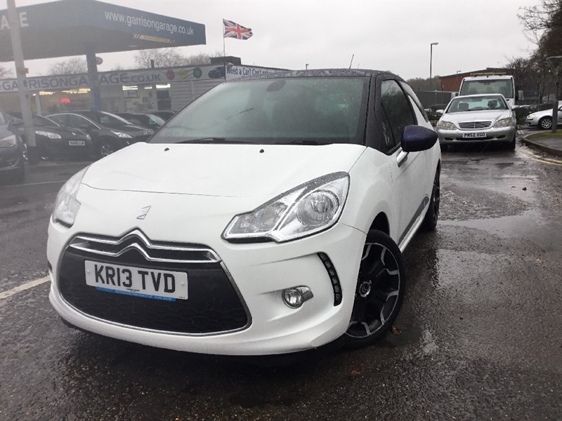 used Citroen DS3 E-HDI DSTYLE PLUS in hampshire-and-surrey