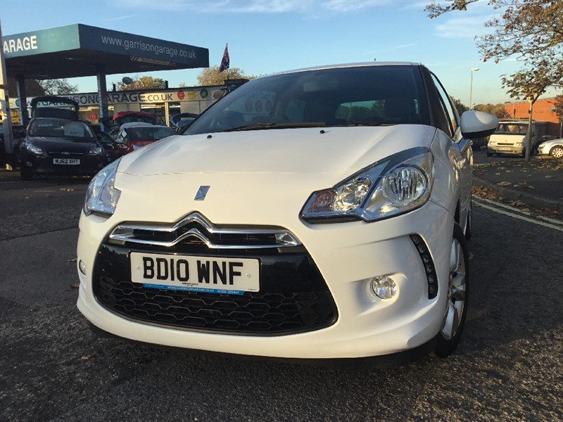 used Citroen DS3 HDI DSTYLE in hampshire-and-surrey