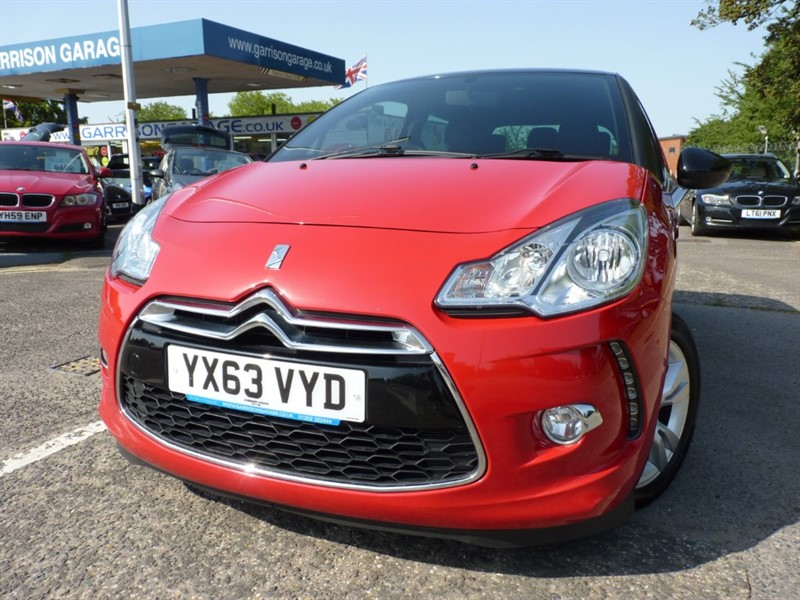 used Citroen DS3 1.6 E HDI D-STYLE in hampshire-and-surrey