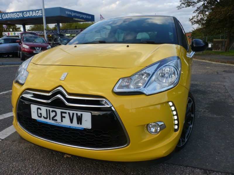 used Citroen DS3 DSTYLE PLUS in hampshire-and-surrey