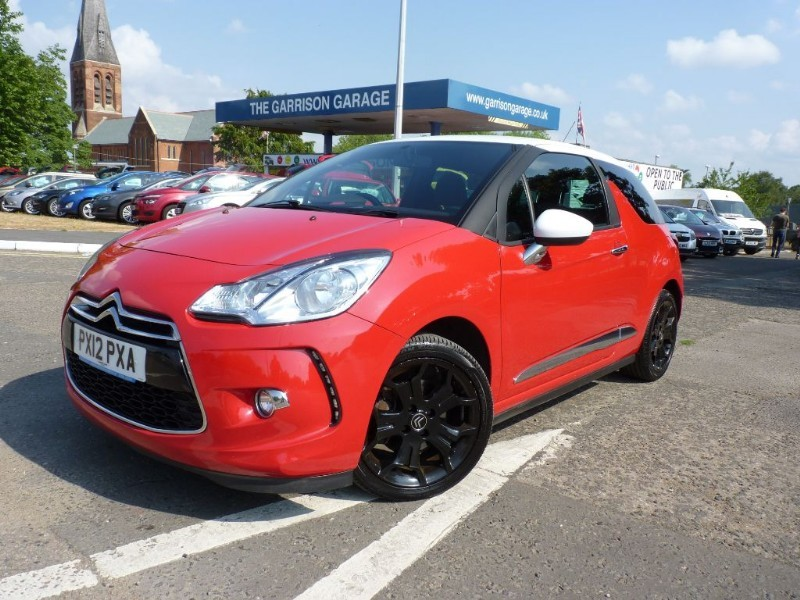 used Citroen DS3 THP DSPORT in hampshire-and-surrey