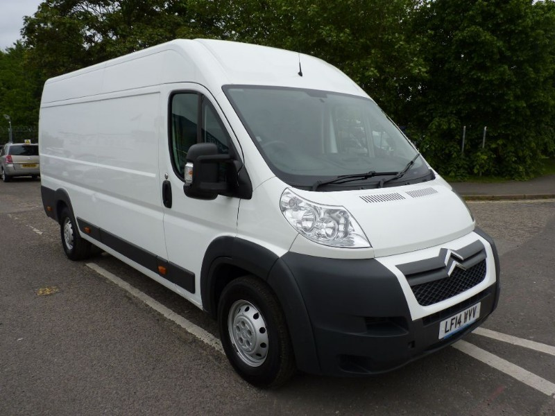 Used White Citroen Relay For Sale Hampshire