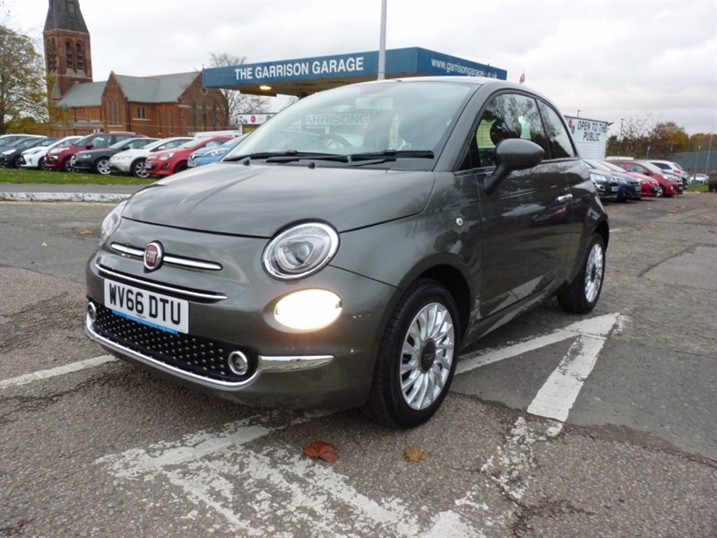used Fiat 500 LOUNGE in hampshire-and-surrey
