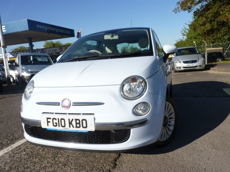 used Fiat 500 LOUNGE DUALOGIC in hampshire-and-surrey