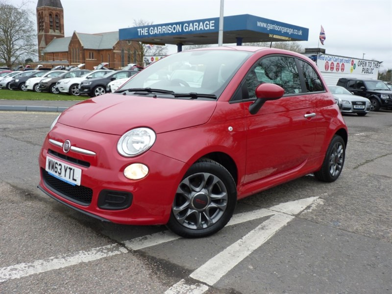 used Fiat 500 S in hampshire-and-surrey