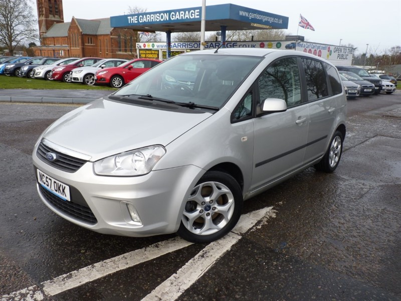 used Ford C-Max ZETEC 115 in hampshire-and-surrey