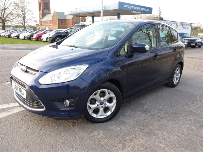 used Ford C-Max ZETEC TDCI in hampshire-and-surrey