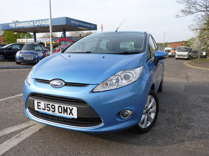 used Ford Fiesta ZETEC in hampshire-and-surrey
