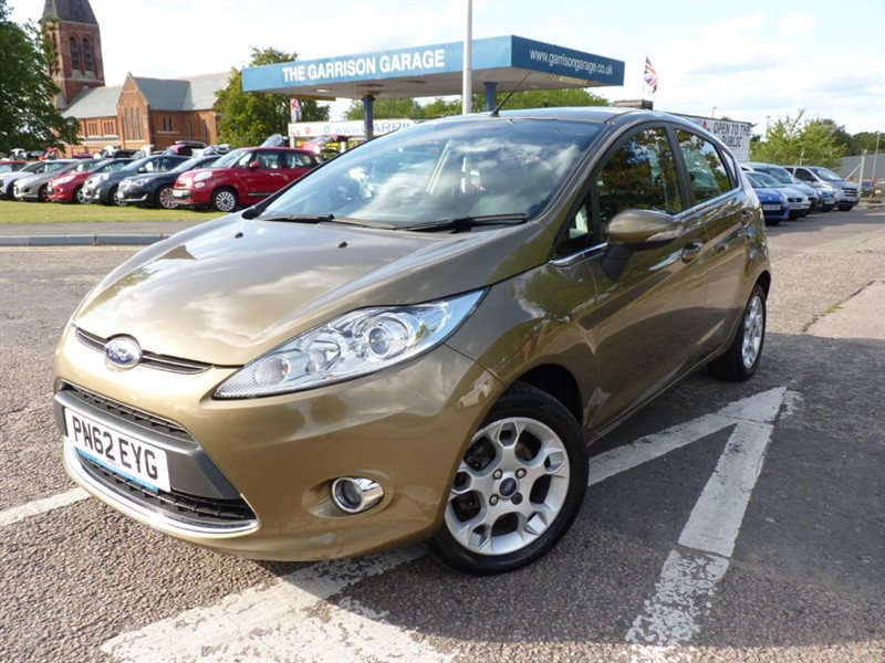 used Ford Fiesta ZETEC TDCI in hampshire-and-surrey