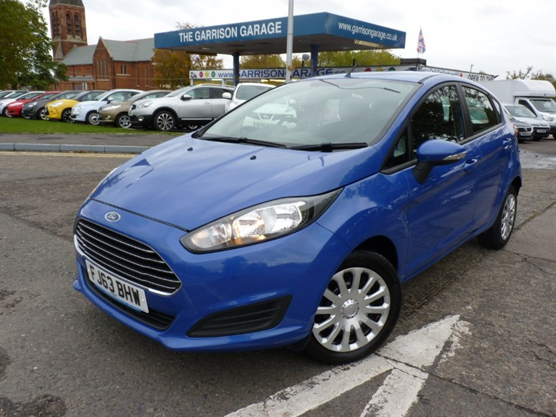 used Ford Fiesta STYLE TDCI in hampshire-and-surrey