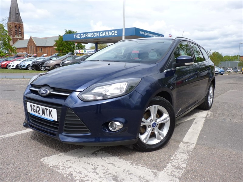 used Ford Focus ZETEC TDCI in hampshire-and-surrey