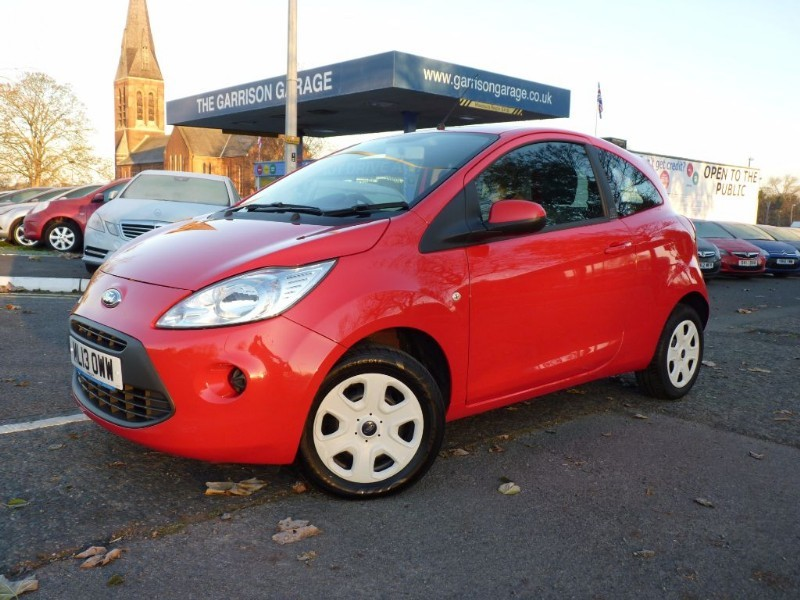 used Ford KA EDGE in hampshire-and-surrey