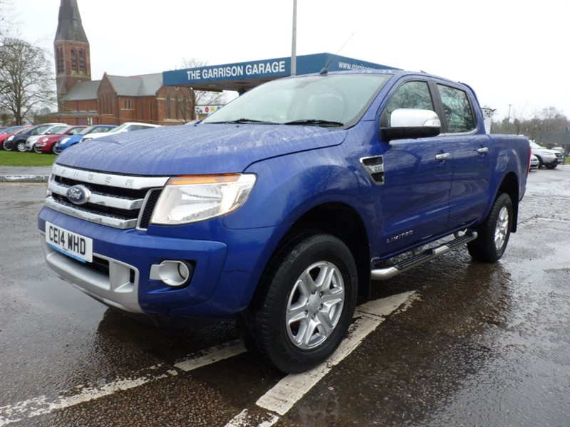 used Ford Ranger LIMITED 4X4 DCB TDCI in hampshire-and-surrey